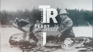 Teddy Roosevelt by Meg Jannott
